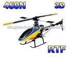 3D 6-CH 2.4G 450 hobby RC helicopters RC model hobby