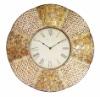 Art Design Flower Type Metal Decorative Clock