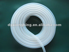 clear extruded silicone tube/ extruded silicone tubing