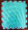 anti-slip blue floor mat