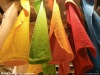 Cotton bright colored face towel