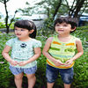 Wholesale girls summer tops of kid's clothing