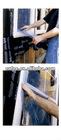 window masking film-adhesive window film