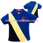 2012 Fashional combed cotton pique knit Kid Polo shirt