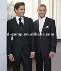 MS-086 2012 OEM design black men suit for wedding suits for women