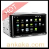 2 Din 6.95 Inch TFT Touchscreen Android 2.3 & WinCE 6.0 Dualoperating system Car DVD player