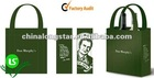 2012 New Nonwoven shopping bag with zip