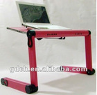 music laptop table with usb fans and usb hub
