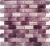 crystal glass decorative colored mosaic tile