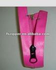 open-end PVC waterproof zipper