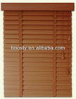 Automatic wooden blinds