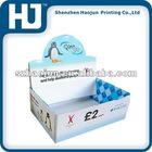 Color printing shelf display box