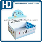 Color printing shelf display box