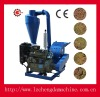 Hot sell Grinder hammer mill with 55hp diesel engine