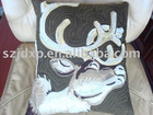 embroidery car cushion