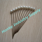 55mm Round Pearl Corsage Pin
