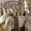 100% Cotton Vintage Stripe Cottage Floral Patchwork Quilt Cover Set