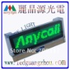 Promotion LED Graphic Name Badge 12*48pixels 3.2cm*10.2cm 5pcs/lot Free Shipping