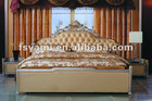 Imported Genuine royal luxury bedroom furniture