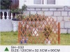 2012 HOT garden wooden fence