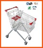 European style supermarket trolley