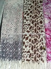 new fashion 100% printed wool scarf for women's