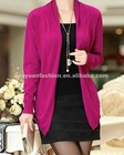 2012 Autumn Pure Color knit cardigan woman sweater
