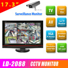 Original new and low cost 17.3 inch lcd monitor with high resolution 1600*900