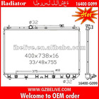 car radiators wholesale Auto Radiator 16400-G099 for Toyota radiator tanks radiator fan