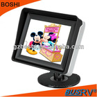 "2012 Popular 3.5"" Car Rearview LCD Monitor with digital panel"
