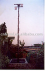 15m pneumatic telescoping light mast tower and mobile lighting tower