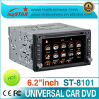 Universal 2 din car dvd player with GPS 3G and Bluetooth