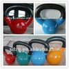 high quality & all kinds of style vinyl coated kettlebell