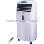 Evaporative air cooler and heater with LCD display