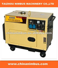 www.chinanimbus.com factory supply High quality Diesel Generators 5kw silient diesel generator