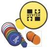 nylon 9 inch foldable frisbee NF005