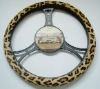 Leopard Steering Wheel Cover