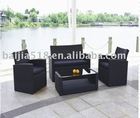 outdoor modern garden furniture , PE rattan