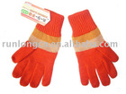 girl's knited winter gloves -RL-GL038