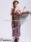 New Fashion Women Elegant Chiffon Dresses 2012