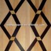 wood marble inlay flooring parquet flooring LIREN-M008