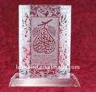 top grade K9 islamic paperweight