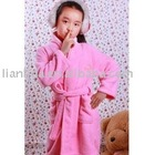 100% cotton velour bathrobe home textile supplier