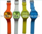 2012 popular cheap silicone jelly watch
