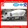 2012 new type hot selling volvo concrete mixer trucks