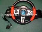 Orange colour game racing wheel for xbox/ps2