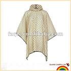 women full printing rain poncho
