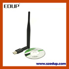 The Smallest Wi-Fi USB Wireless Adapter, 300Mbps Data Transfer Rate and 300ft Operating Distance