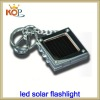 Mini solar power led torch