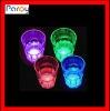 LED flashing glass